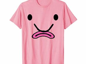 Blobfisch Kostuem Haesslicher Fisch Halloween Karneval T Shirt 0