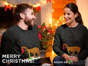 Green Turtle T Shirts Witziges Ugly Sweater Geschenk Verkatertes Rentier Sweatshirt 0 0