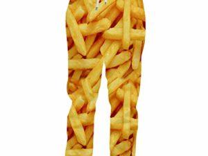 Guyufang Jogger Hosen Maenner Mode Lose Lebensmittel 3D Trainingshose Drucken Pommes Frites Chips Streetwear Plus Groesse 5XL Kostuem Mann Jogginghose 0