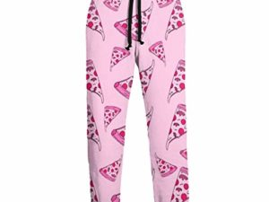 Sunny R Pink Pizza Pattern Herren Jogginghose Athletic Pant Hose Laufhose Sporthose 0