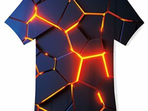 TUONROAD-Jungen-Maedchen-T-Shirt-3D-Sommer-Casual-Kurzarm-Kinder-T-Shirts-0