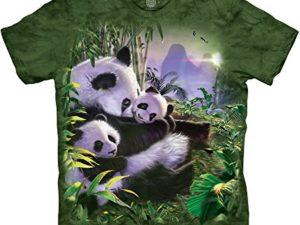 The-Mountain-Herren-Panda-Cuddles-T-Shirt-0